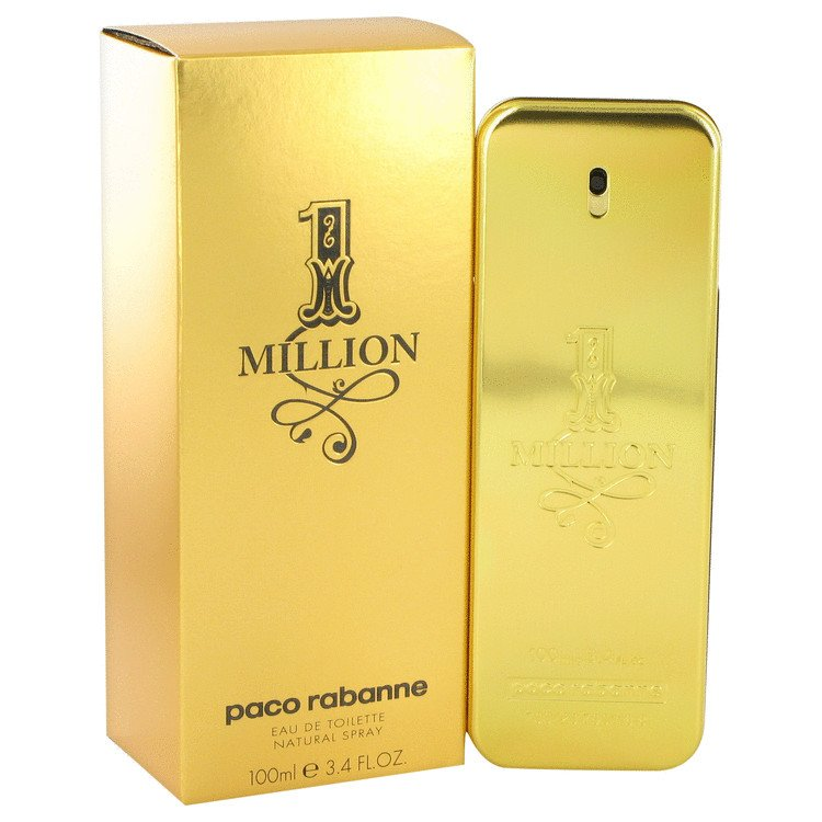 1 Million by Paco Rabanne, Eau De Toilette Spray 3.4 oz