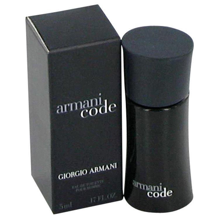 Armani Code by Giorgio Armani, Mini EDT .17 oz