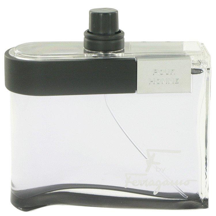F Black by Salvatore Ferragamo, Eau De Toilette Spray (Tester) 3.4 oz