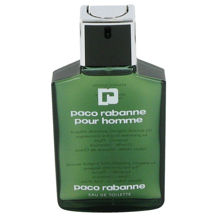 PACO RABANNE by Paco Rabanne, Eau De Toilette Spray (Tester) 3.4 oz