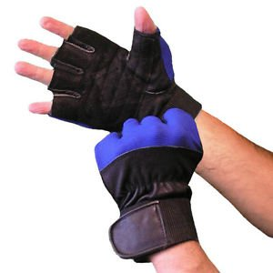 Gloves Weightlifting Spandex With Wristwrap