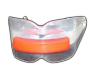 Clear Plastic Mouth Piece Double