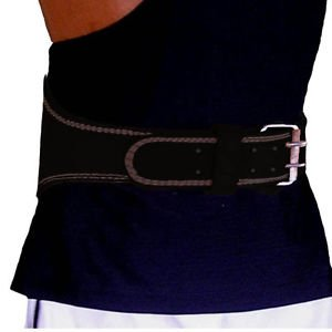 "Weightlifting Back Support Belt 6"" Padded"