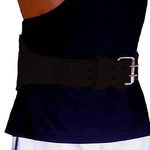 Weightlifting Leather Back Support belt 6""