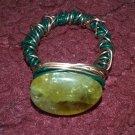 Genuine Citrine Ring gold