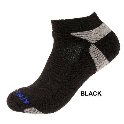 KentWool Men's Tour Profile Golf Sock- Black Medium