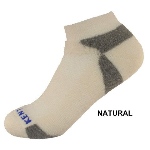 KentWool Men's Tour Profile Golf Sock-Natural Large