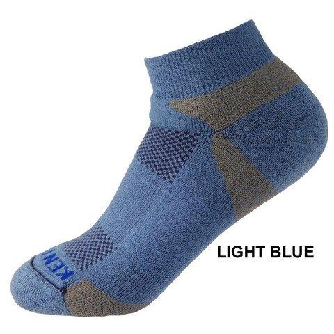 KentWool Men's Tour Profile Golf Sock-Lite Blue Large