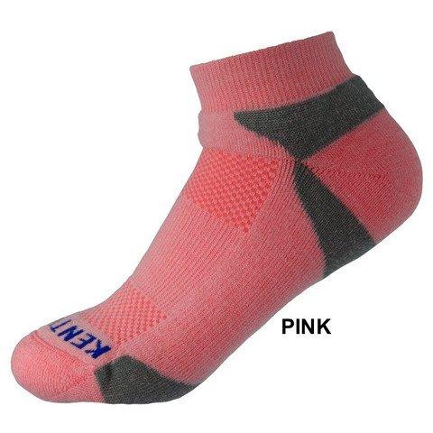 KentWool Men's Tour Profile Golf Sock-Pink Large