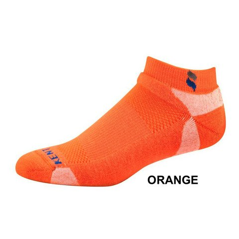 KentWool Men's Tour Profile Golf Sock-Orange Medium