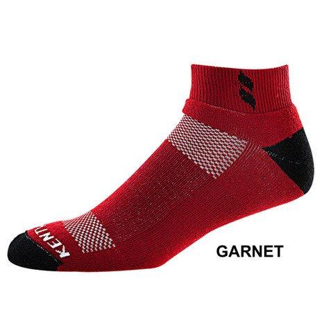 KentWool Men's Tour Profile Golf Sock-Garnet Large