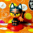 Litten Pokemon Furuta Choco Egg Mini Figure Sun and Moon