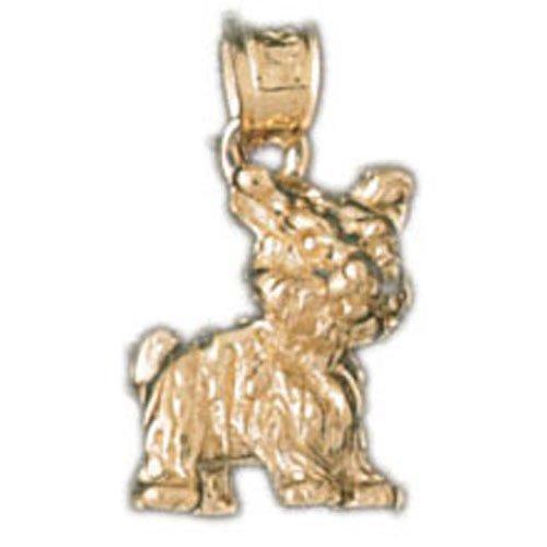 14K GOLD ANIMAL CHARM - DOG #2036