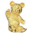 14K GOLD CHARM - TEDDY BEAR #2448