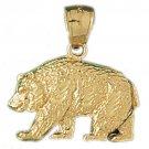 14K GOLD CHARM - BEAR #2548