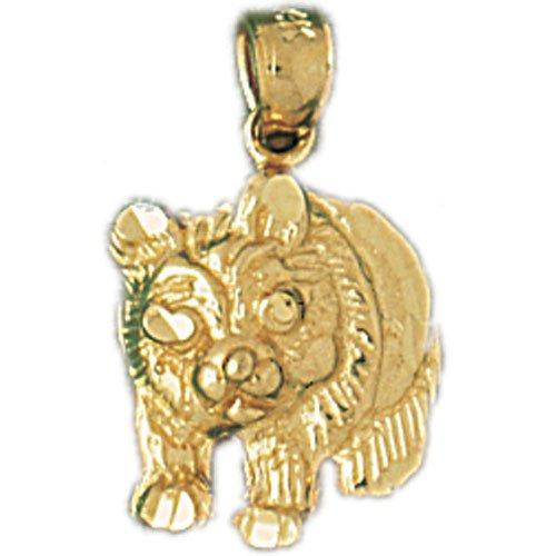 14K GOLD CHARM - BEAR #2535