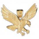 14K GOLD BIRD CHARM - EAGLE #2777