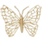 14K GOLD ANIMAL CHARM - BUTTERFLY #3085