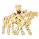 14K GOLD ANIMAL CHARM - CAMEL #2665