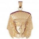 14K GOLD EGYPTIAN CHARM - KING TUT #4793