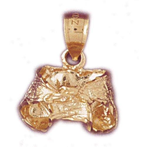 14K GOLD BABY CHARM #5953