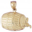 14K GOLD COOKING CHARM #6947