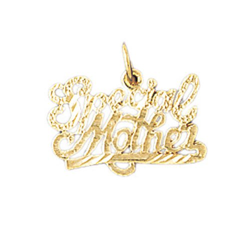 14K GOLD SAYING CHARM - SPECIAL MOTHER #9720