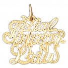 14K GOLD SAYING CHARM - SPECIAL DAUGHTER IN LAW #10484