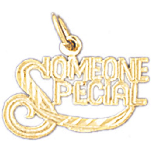 14K GOLD SAYING CHARM - SOMEONE SPECIAL #10258