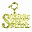 14K GOLD SAYING CHARM - SOMEONE VERY SPECIAL #10257
