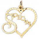 14K GOLD SAYING CHARM - SPECIAL #10254