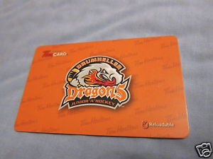 TIM HORTONS / TIM HORTON'S COLLECTOR GIFT CARDS Dragons Drumheller FD42400