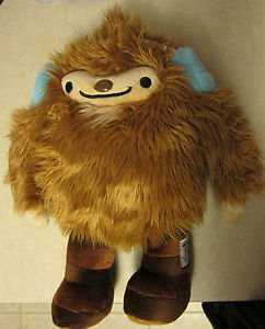 "Vancouver 2010 Winter Olympic Mascot Plush Toy Quatchi 13.5"" tall"