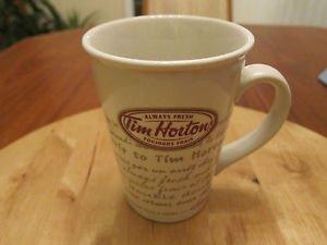 TIM HORTONS Road Trip LIMITED EDITION COFFEE MUG 2009 Bilingual (French/English)