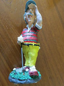 Eye on the Ball - Doug Harris - Figurine from Russ Berrie & Co., The Golfer