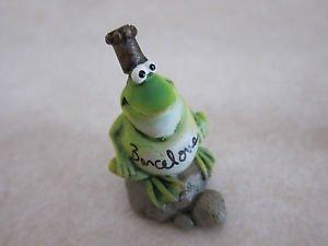 Doug Harris Russ Berrie Figurine / Ornament - Frog / Toad Barcelona
