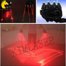 A pair of Red Laser Gloves/laser show lighting dancer/pub lighting dance