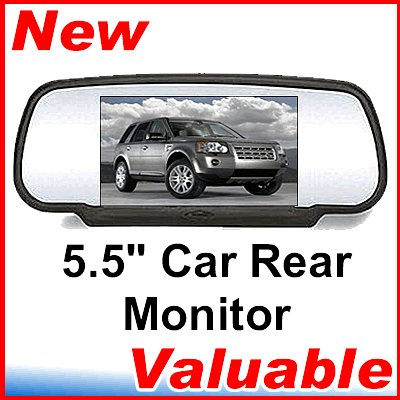 "5.5"" TFT LCD Car Rear View Monitor for DVD CD TV MP3"