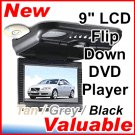"9"" TFT LCD Flip Down Monitor TV DVD VCD CD MP3 Player"