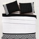 Athena Black Twin Quilt Set By VHC Brands