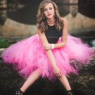Size 12 Paris Pink Tulle Skirt By Princess Doodle Beans