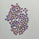 144pcs Crystal AB ss4,6,8,10,12,16 Crystal/Glass Flat Back Rhinestones Retail Pack nail art