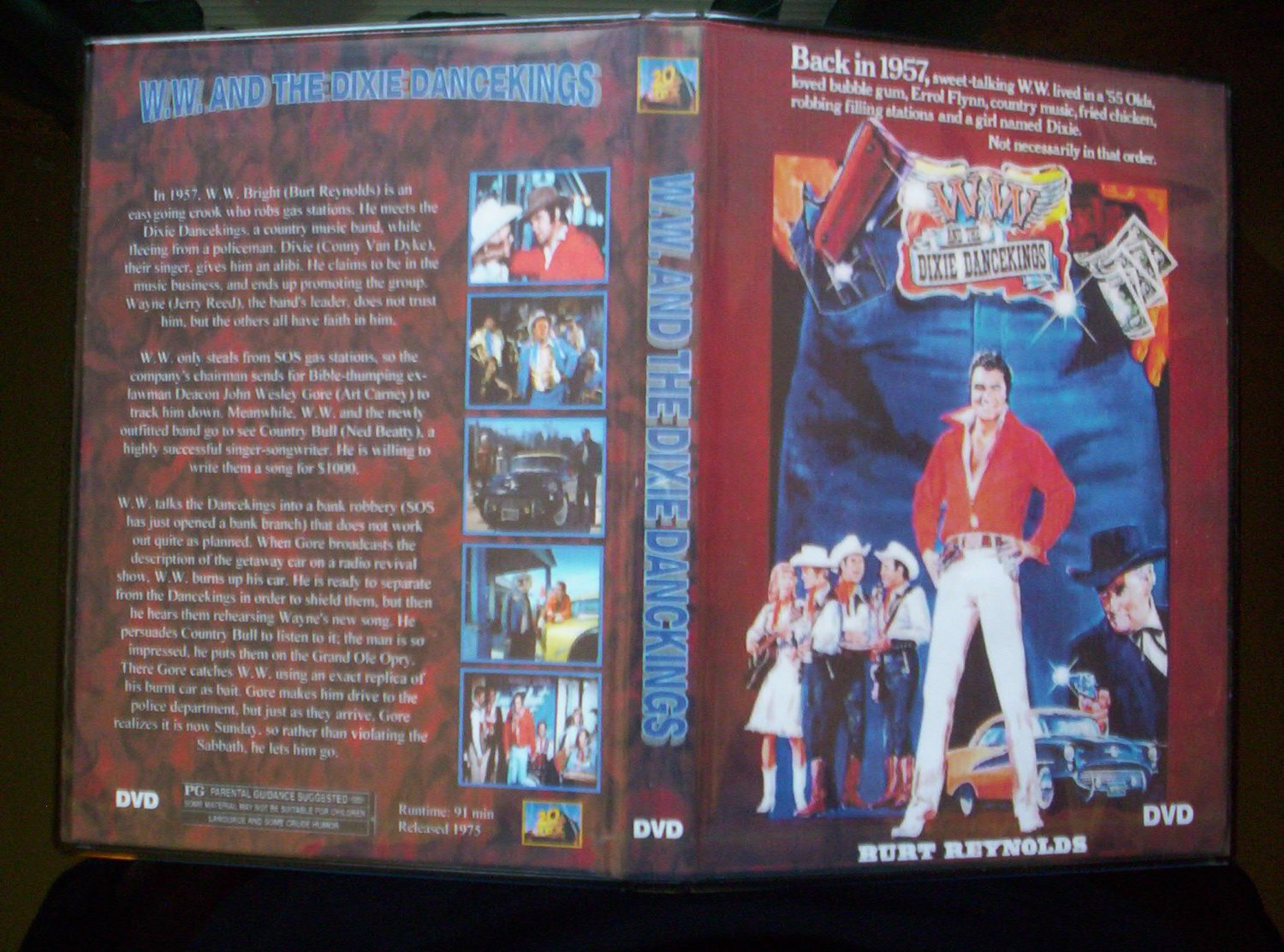 WW and the Dixie Dancekings DVD 1975