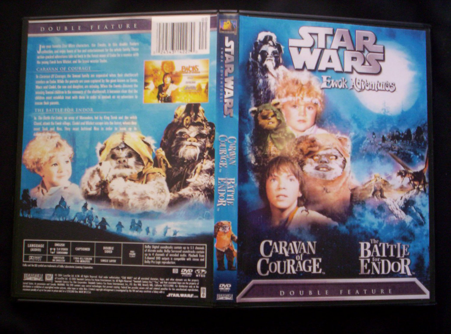 Star Wars Ewok Adventures DVD Two Disc Set