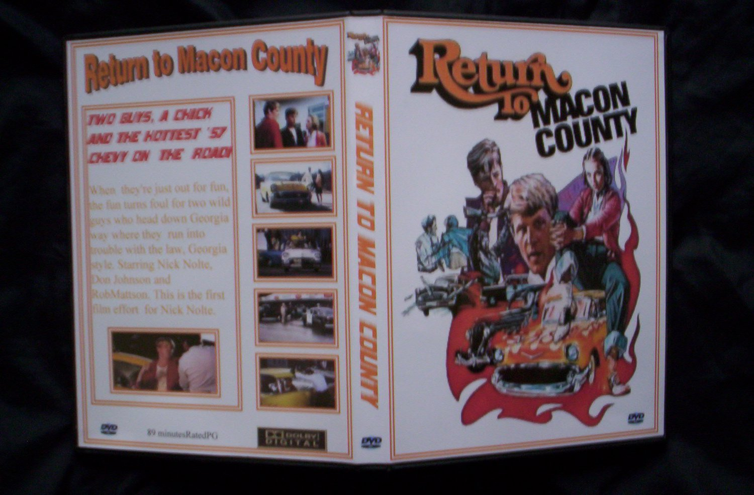 Return To Macon County DVD