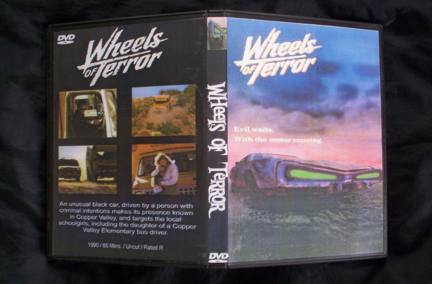 Wheels of Terror DVD 1990