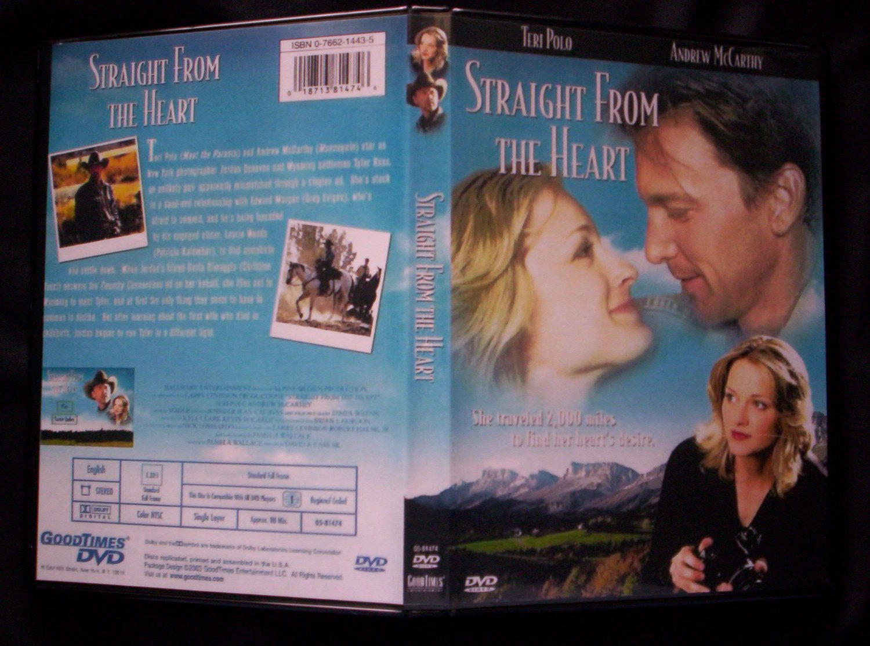 Straight From The Heart DVD 2003 Hallmark Movie