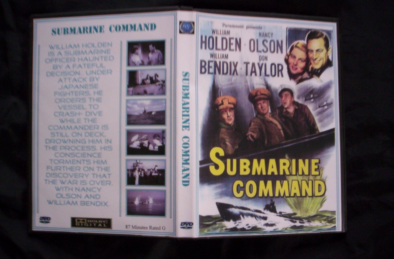Submarine Command DVD 1951, William Holden