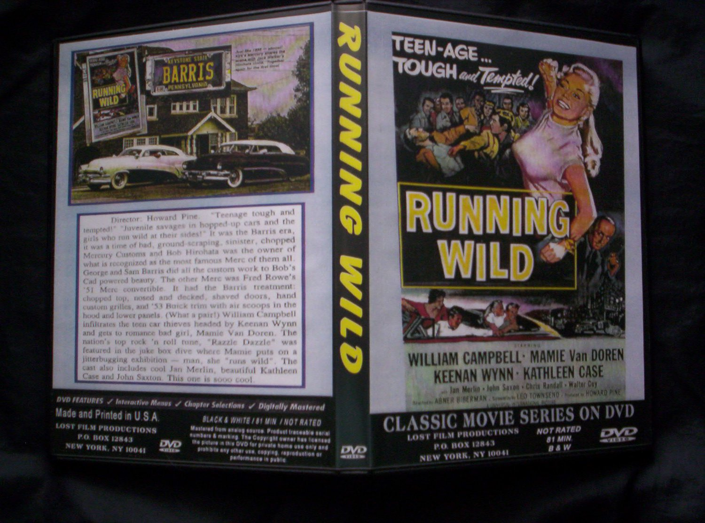 Running Wild DVD 1955 William Campbell, Keenan Wynn