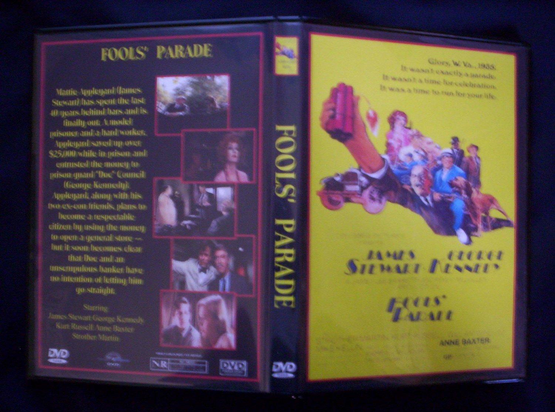 Fool's Parade DVD 1971 James Stewart, Kurt Russell